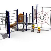 Tổ hợp cầu trượt – vận động đa năng