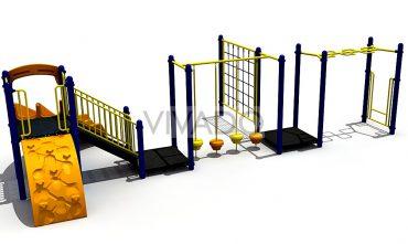 Tổ hợp sân chơi trường học