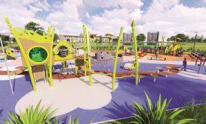 """""""Chỗ chơi"""" nơi đô thị: Sân chơi cho trẻ, từ hình khối đến sắc màu"""