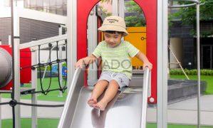 Các quy tắc an toàn khi trẻ em chơi trên sân chơi ngoài trời
